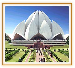 Lotus Temple, Delhi Vacations