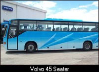Volvo 45 Seater, Car Coach Rental Services